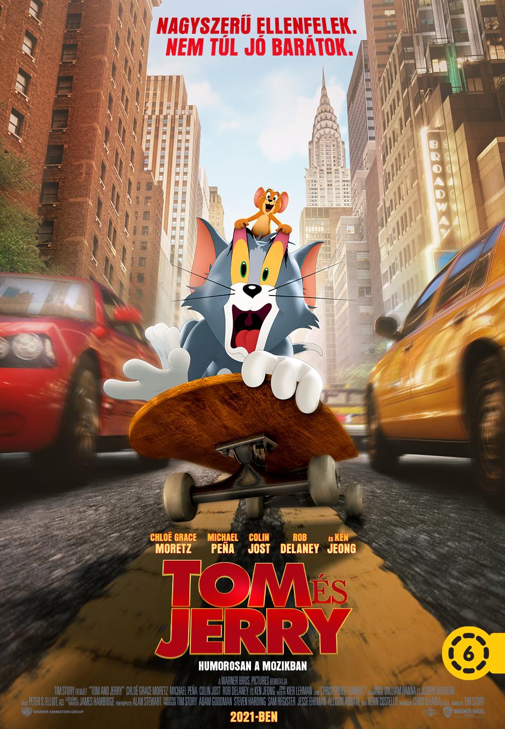 Tom és Jerry előzetes